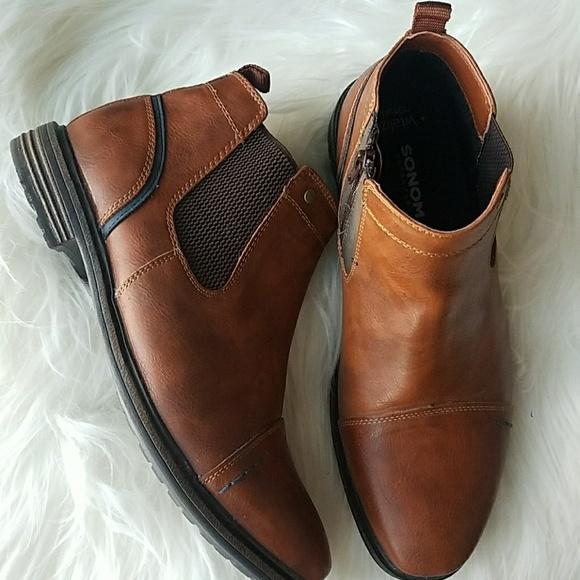 6416074b886 EUC Sonoma Chelsea mens dress ankle boots